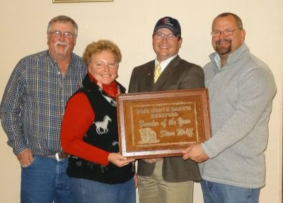 ND Hereford Association's 2016 Breeder of the Year
