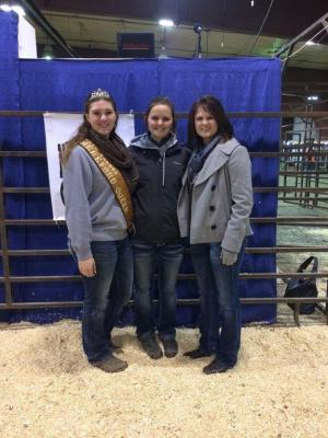 ND Hereford Association's 2016 Heifer Winner - Prairie Rylee and LaMae